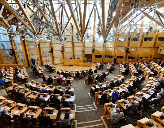 Scottish parliament hall